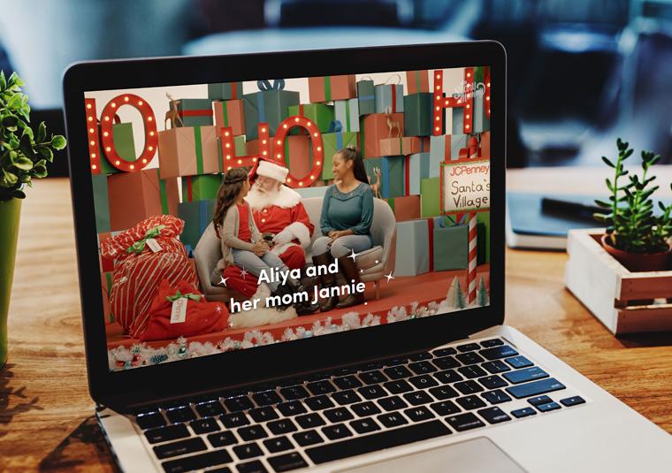 JCPenney – Santa's Village